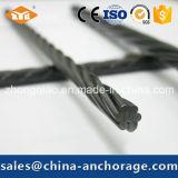Выделенная ASTM стренга PC 18.9mm стальная