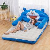 Kinderen of het Volwassen Comfortabele Vouwbare Opblaasbare Bed van de Lucht van de Kat pvc of TPU