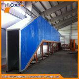 Cl-2712 Tipo de puente de acabado industrial horno curado de la pintura en polvo