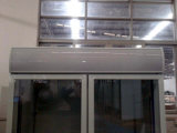 Comercial Puertas de vidrio dobles verticales Coca-Cola Fría Frigorífico