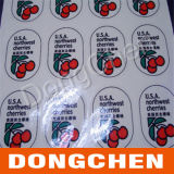Het Embleem van de douane 4c die Duidelijke Transparante Sticker afdrukken