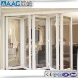 Portello di piegatura di alluminio del PVC di disegno di alta qualità