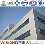 Alto almacén fácil/taller de la estructura de acero de la instalación de Qualtity