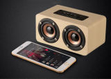 Altavoz Bluetooth profesional de alta potencia inalámbrico de madera