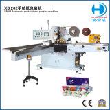 Máquina de embalaje de papel tisú para el tejido de bolsillo