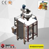 Máquina automática de selagem de preenchimento de formulário vertical do grande volume dois servo automático