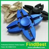 Fábrica metálica do girador da mão do brinquedo do girador do dedo quatro da mão da inquietação da liga de alumínio do caranguejo Fs034
