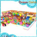 Campo de jogos macio interno usado venda de Playgroundr para o centro do jogo