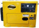 gerador Diesel Soundproof do começo 6kw elétrico