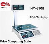Scala di calcolo di prezzi elettronici della scala di Digitahi
