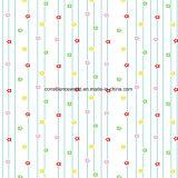 100%Polyester de Afgedrukte Stof van de bloem Pigment&Disperse voor de Reeks van het Beddegoed