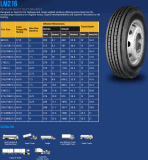 China-Radial-LKW-Reifen aller Stahlgummireifen Longmarch Roadlux Reifen (LM203)