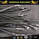 7X19 ; Diamètre : 5.0mm ; Câble métallique de l'acier inoxydable SUS316 (1770mpa)