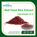 Colorante de Alimentos Extracto de Arroz de Levadura Roja, Polvo de Arroz de Levadura Roja Lovastatina, Extracto de Levadura a Granel