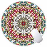 Rilievo rotondo su ordinazione del tavolo di Mousepads di gioco delle stuoie dei mouse di velocità del rilievo della stuoia del mouse