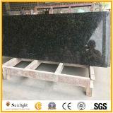 Prefab Countertop van de Keuken van het Graniet Solarius van het Eiland Hoogste Gouden