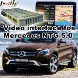ベンツNtg 5.0のための車のビデオインターフェイス任意選択B C EのGlcのGle Glaのクラス、人間の特徴をもつ運行後部および360パノラマ