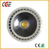 Chip COB 12W 15W LED PAR30 18W Downlight LED PAR30 de mazorca de la luz de lámpara Las lámparas LED Lámparas de LED