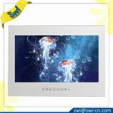 Stanza da bagno impermeabile bianca dello specchio di prezzi di fabbrica 17inch TV