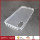 Caixa macia do telefone de pilha da qualidade de TPU para o iPhone 8