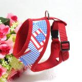 O cão do engranzamento do ar dos produtos do animal de estimação veste o chicote de fios connosco a bandeira (YD635)