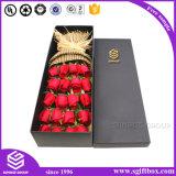 Caixa de empacotamento da flor do projeto especial feito sob encomenda do dia do Valentim