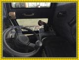 Carregador agricultural da roda do estojo compato popular do motor de Kubota com o euro- engate rápido