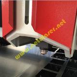 切断の厚い金属板(Hotsale)のための閉鎖1500Wファイバーレーザー