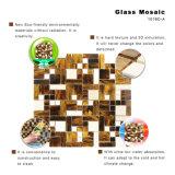 Het nieuwe Mozaïek van het Gebrandschilderd glas van de Tegel van de Muur van Backsplash van de Badkamers van het Ontwerp