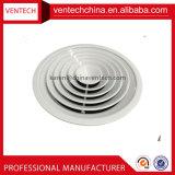 Diffuseur rond de plafond de climatiseur d'évent d'air de diffuseurs directionnels en aluminium de plafond