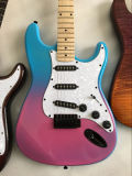 Guitarra eléctrica bicolor del St con el kit de la guitarra para la venta