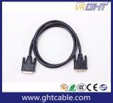 Support Haute Vitesse 1080P / 2160p PVC Jacket DVI Vers DVI Cable