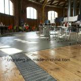 Passarela de grade de aço para pavimento de ventilação