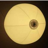 Aufgeblähte 30cm Durchmesser Belüftung-aufblasbare Kugel mit LED unten