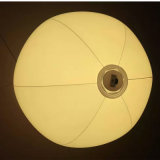 LED를 가진 팽창된 30cm 직경 PVC 팽창식 공 실제로는