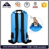 Sac à dos étanche en PVC imperméable et léger pour activités extérieures - Sac sec