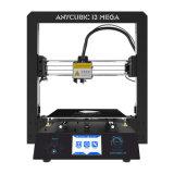 Обновление 3.5 ЖК-дисплей высокой точности для настольных ПК 3D-принтер I3 металлической раме DIY Kit Self-Assembly с карты памяти SD емкостью 8 ГБ