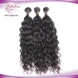 Trama de cabelo da onda natural da Malásia 100% de cabelo humano não processada