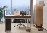 新式の現代革MDFのオフィス表(WE03)
