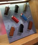 Étalage acrylique transparent fait sur commande d'allumeur de plexiglass