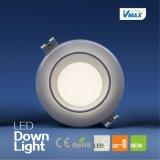 12W LED 700 Lulmen AC220-240Vの円形の引込められた天井Downlight