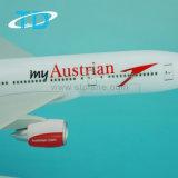 表示のためのB777-200 1/200 32cmのオーストリア人のServus香港プラスチックボイングの平らなモデル