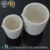 Crogiolo di ceramica dell'allumina per la fusione dell'oro