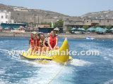 Gioco gonfiabile dell'acqua della banana di alta qualità, gioco dell'acqua di sport