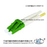 LC 2.0mm de Duplex Optische Schakelaar van de Vezel met Metalen kap