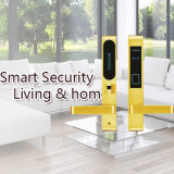 Blocage d'hôtel de Smart Card de traitement de levier de porte d'acier inoxydable de constructeur