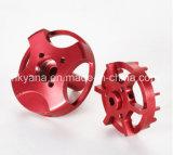 Precisión de aluminio girando las piezas por CNC máquina de torno