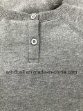 Основной пуловер ватки для малышей с печатание письма