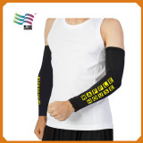 L Custom fresco tejido Spandex manga del brazo con el logotipo impreso