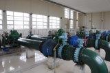 Agua que levanta la bomba de flujo axial con el motor